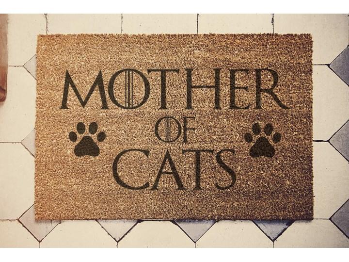 """""""MOTHER OF CATS"""" wycieraczka kokosowa"""
