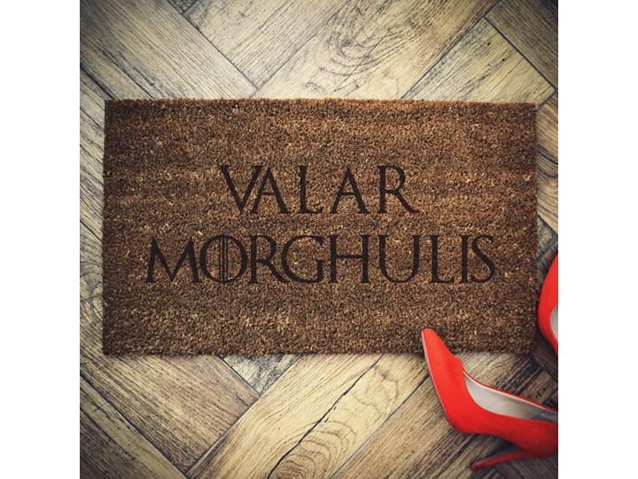"""Valar Morghulis"" wycieraczka kokosowa"