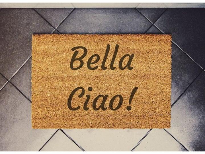 """dom z papieru """"Bella Ciao"""" wycieraczka kokosowa"""