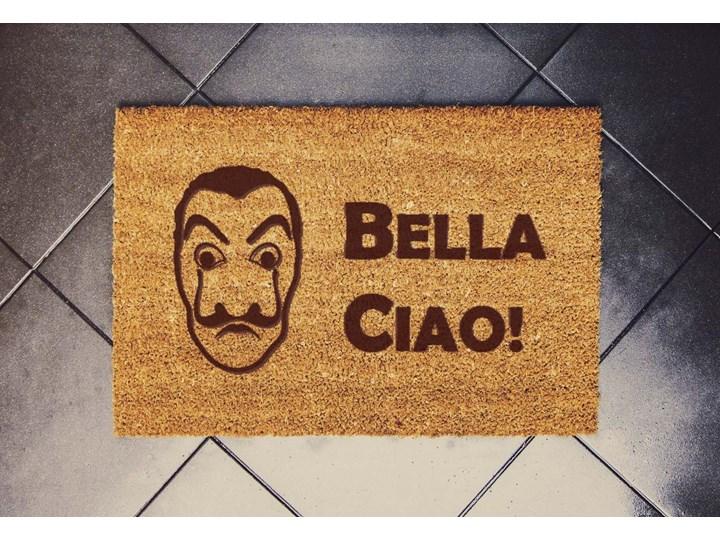 """dom z papieru """"Bella Ciao Maska"""" wycieraczka kokosowa"""