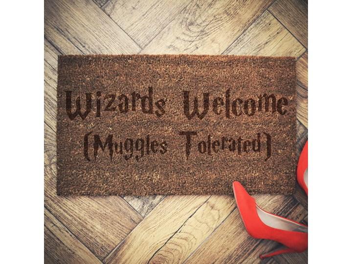 """""""Wizards Welcome"""" wycieraczka kokosowa"""
