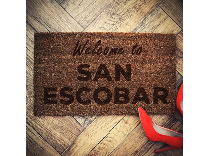 """San Escobar"" wycieraczka kokosowa"