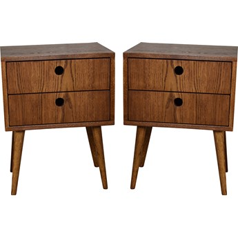 Para szafek nocnych Bedie XL, Pastform Furniture