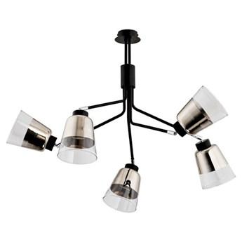 Lampa sufitowa KAPITOL czarna śr. 59cm
