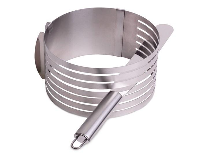 Obręcz regulowana do cięcia ciasta + nóż KM-7788