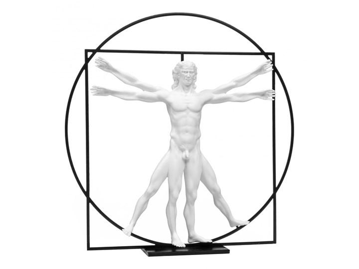 Home Decor - Człowiek Witruwiański - Da Vinci - Figurka 22 cm (biel)