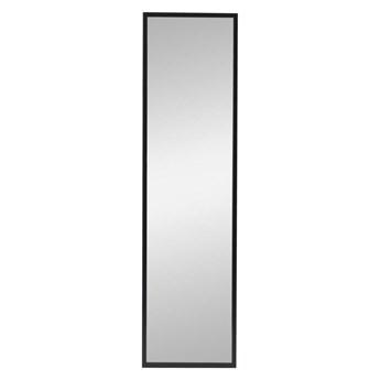 Lustro Milo czarne 30 x 120 cm Inspire