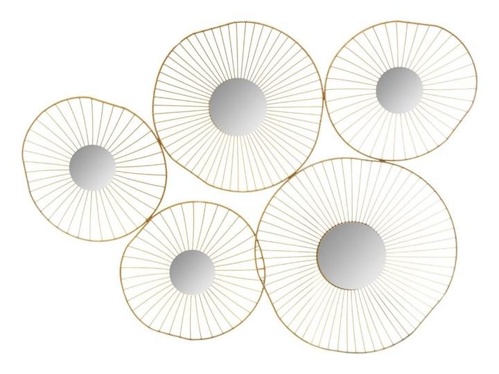 Lustra dekoracyjne WIRED, 5 elementów, kolor złoty