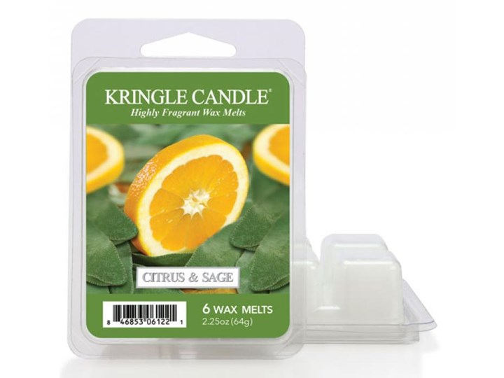 """Kringle Candle - Citrus and Sage - Wosk zapachowy """"potpourri"""" (64g)"""