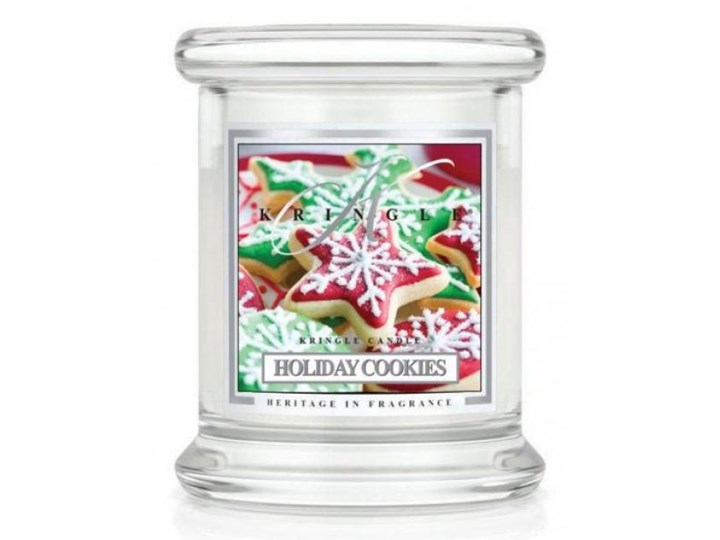 Kringle Candle - Holiday Cookies - mini, klasyczny słoik (128g)