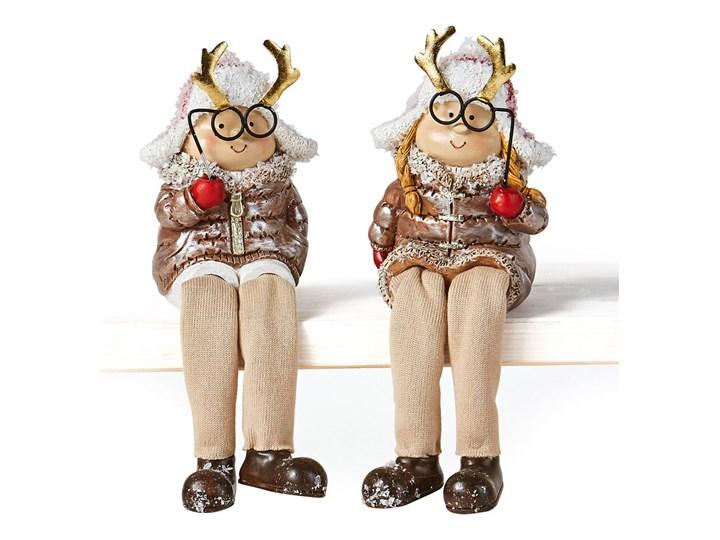 Figurki siedzące Kai & Katja (2 szt.)