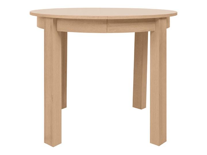 stół rozkładany Bernardin Drewno Drewno Drewno Kształt blatu Okrągły