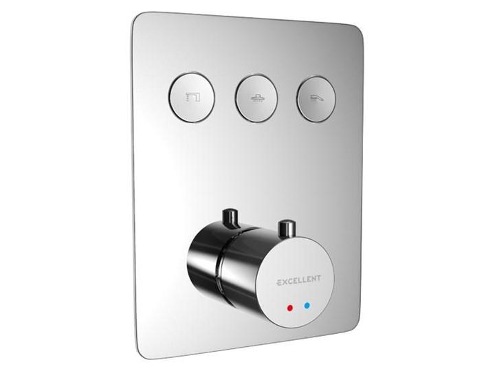 EXCELLENT Krotos bateria prysznicowo-wannowa podtynkowa termostatyczna AREX.8046CR