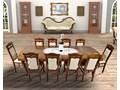 Stół Ludwik160/200x90cm + 6 krzeseł Tadeusz