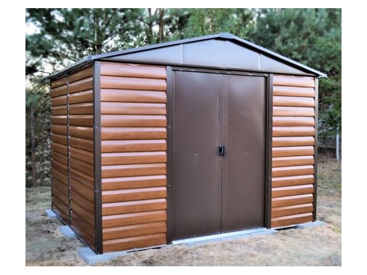 OUTLET - Domek blaszany Yardmaster Brown 3030 x 2370