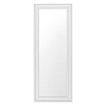 Lustro ścienne wiszące białe 50 x 130 cm