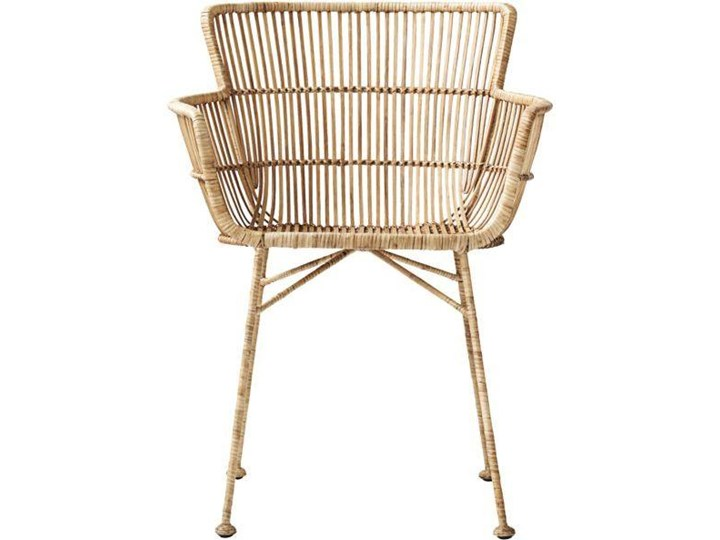 KRZESŁO DINING CUUN NATURE HOUSE DOCTOR Krzesło inspirowane Szerokość 62 cm Wysokość 80 cm Rattan Metal Głębokość 60 cm Żelazo Kategoria Krzesła kuchenne
