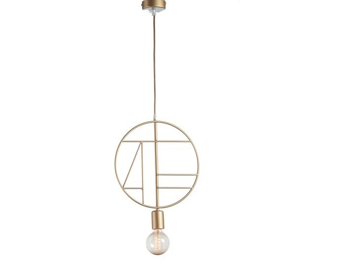 Lampa wisząca Geometra Circle złota