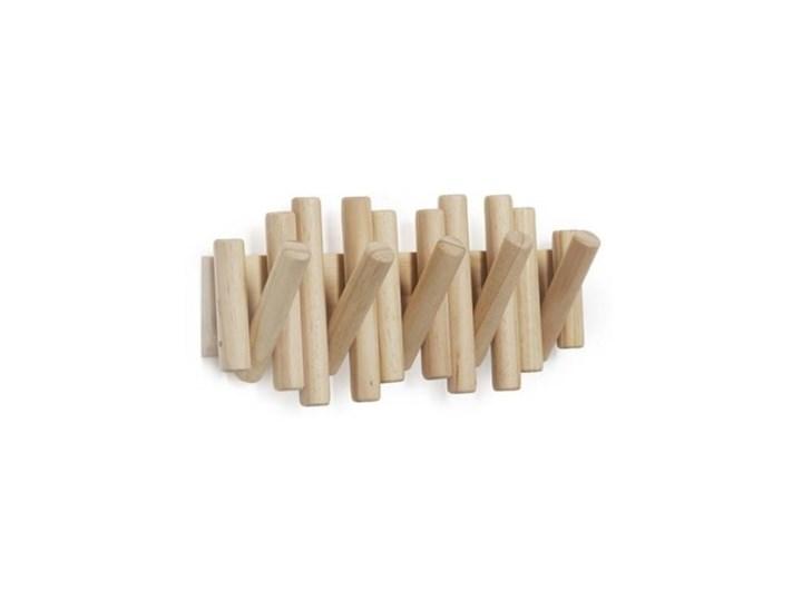 Wieszak ścienny Picket naturalne drewno - Umbra