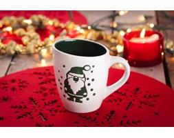 Kubek świąteczny ZIELONY MIKOŁAJ