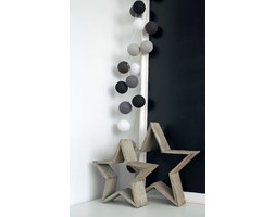 Cotton Ball Lights :: Grey Shadow 35 kul