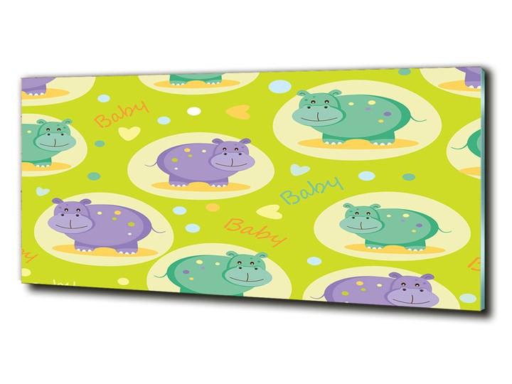 Foto-obraz szkło hartowane Hipopotamy