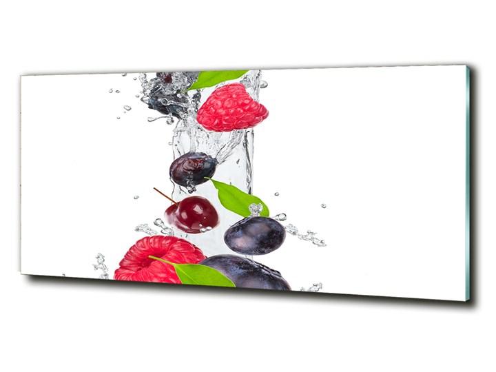 Foto-obraz szkło hartowane Owoce i woda