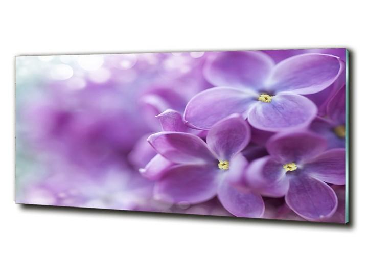Foto obraz szkło hartowane Kwiaty bzu