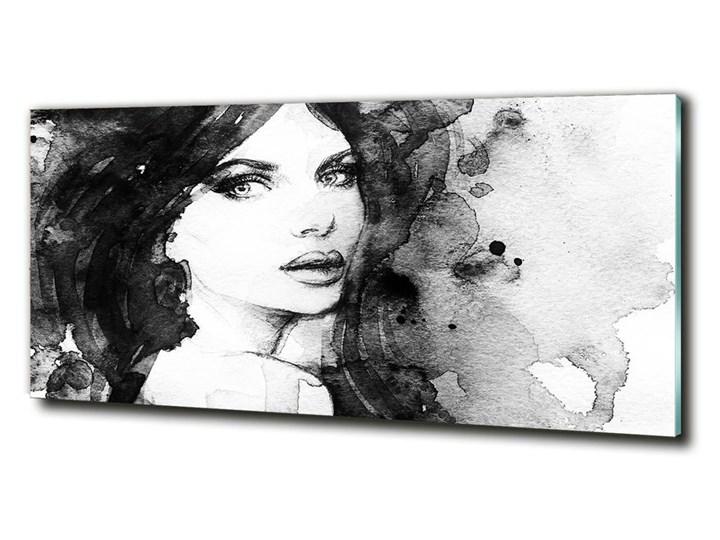 Fotoobraz na ścianę szklany Kobieta portret