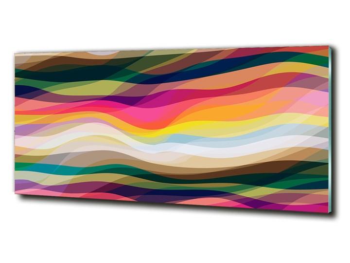 Fotoobraz na ścianę szklany Abstrakcja fale