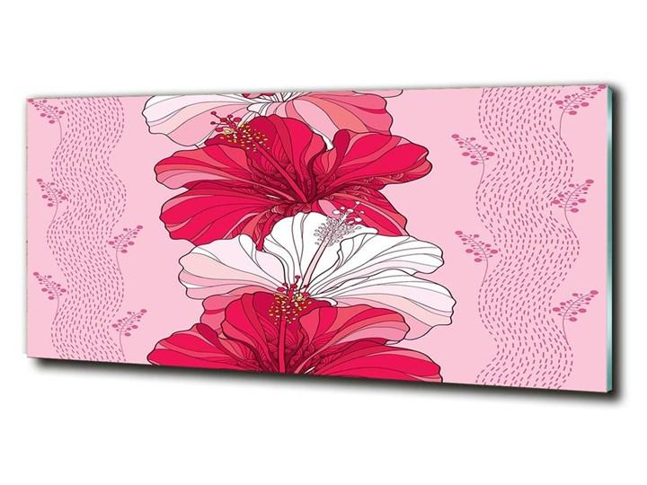 Foto obraz szklany Hawajskie kwiaty