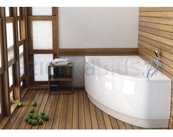 Obudowa asymetryczna 150 x 100 cm lewa Aquaform Helos Comfort 203-05078