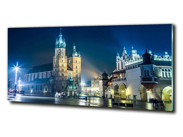 Foto obraz szkło hartowane Kraków nocą