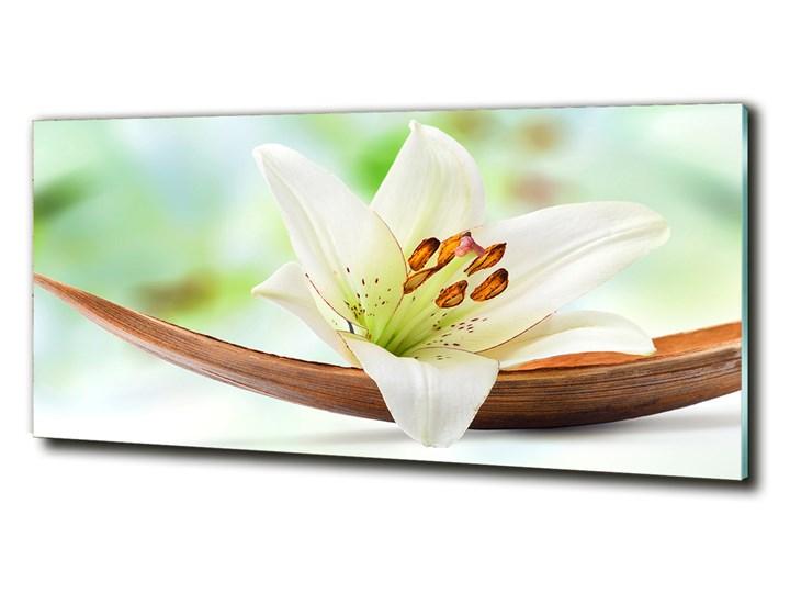 Foto obraz zdjęcie szkło hartowane Lilia