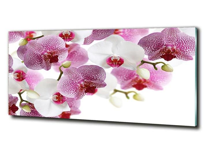 Foto obraz szkło hartowane Orchidea