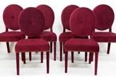 Happy Barok: Krzesło VELVET Burgund