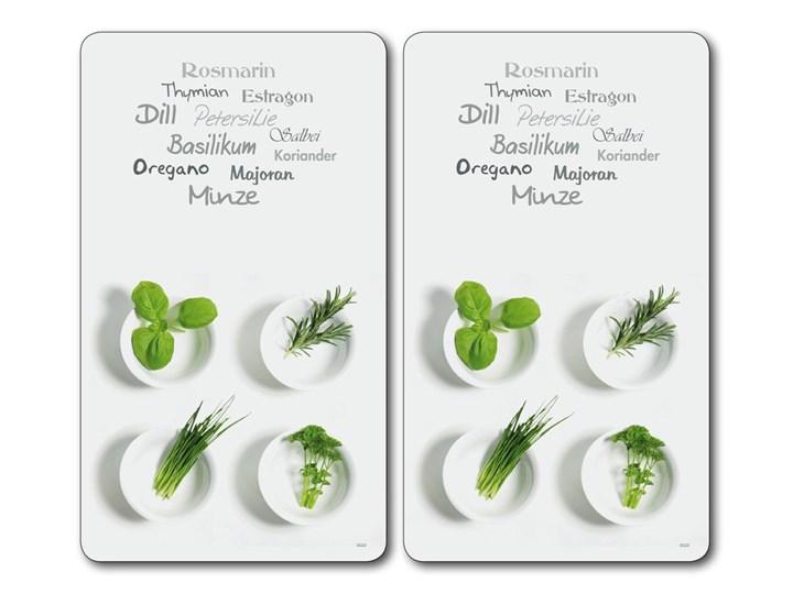 Podkładki żaroodporne, oryginalne tacki do podawania posiłków, komplet 2 sztuk