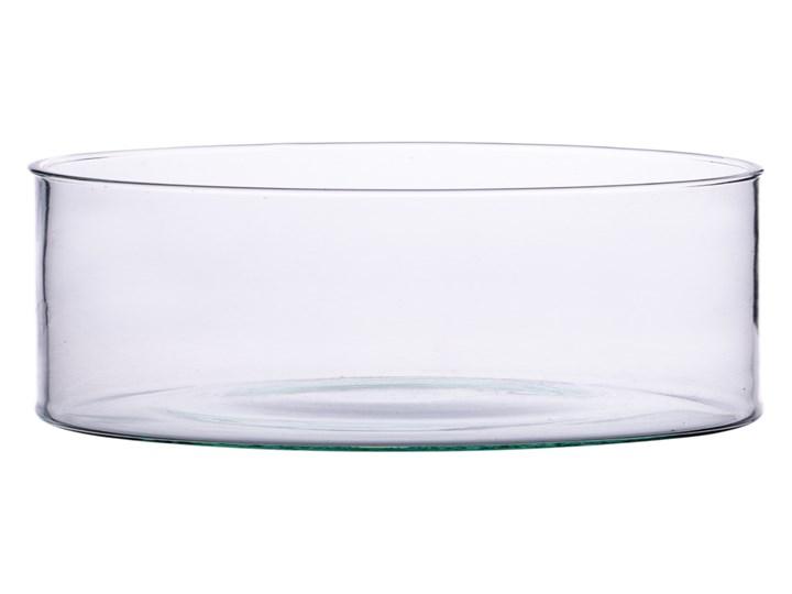 Szklany wazon cylinder H:7cm D:15cm M-2