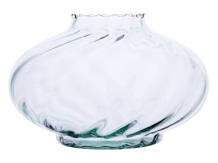 Szklany wazon znicz UFO/W1 optyk H:12,5cm D:19cm