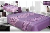 Narzuta dwustronna Mona- fiolet+lila 220x240