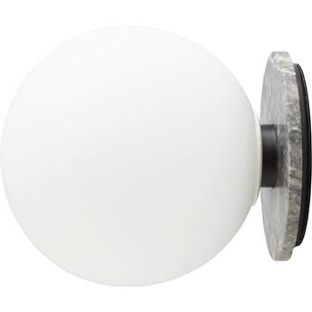 Lampa stołowa/ścienna TR Bulb Grey Marble/Matte Opal, proj. T. Rundle, Menu