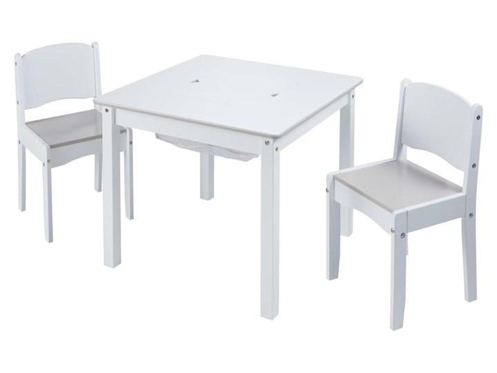 Worlds Apart 3-częściowy zestaw: stolik i krzesełka, biały