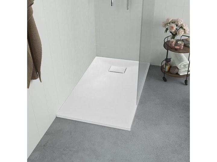 vidaXL Brodzik prysznicowy, SMC, biały, 120 x 70 cm