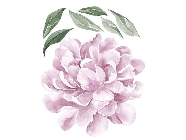 naklejka   piwonia liliowa Pastelowe Love