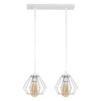 Lampa wisząca biała druciana AGAT W-L 1300/2 WT