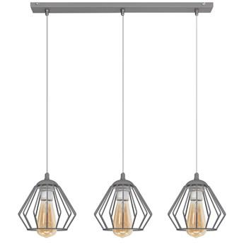 Lampa metalowa szara AGAT W-L 1300/3 GR