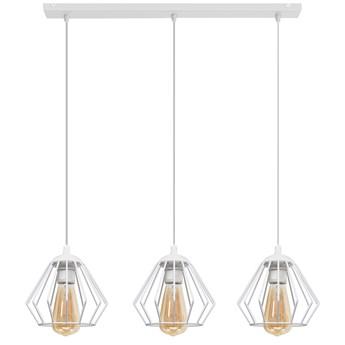 Lampa metalowa biała AGAT W-L 1300/3 WT