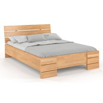 Łóżko bukowe Visby Sandemo High