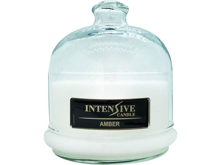 INTENSIVE COLLECTION 100% Soy Wax Premium Candle B2 Jar świeca zapachowa w szkle z kloszem 100% wosk sojowy - Amber