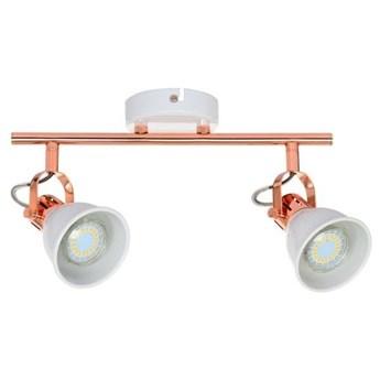 Lampa listwa miedziana 2pkt ANITA 39,5cm LED